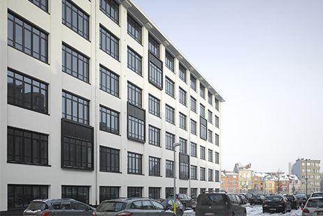 Lavoisier bruxelles nacarat architecte assar for Architecte bruxelles