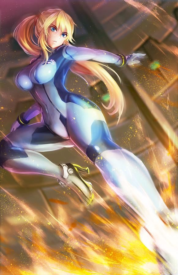 Samus zero suit | Samus, Metroid, Samus aran
