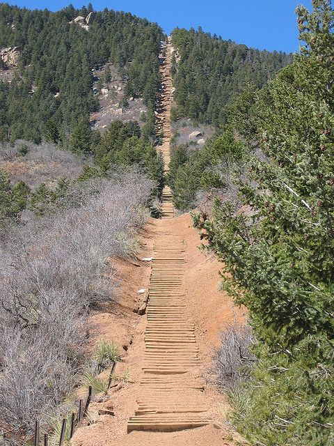Manitou Springs Incline by Bill Dayton, via Flickr