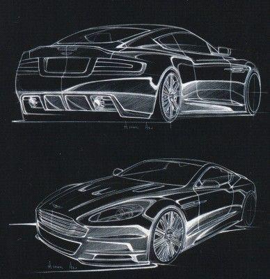 Aston Martin Dbs Concept Sketches Shabby Chic Bathrooms