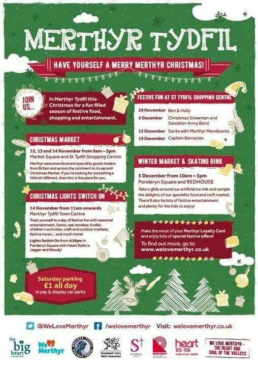 time to have yourself a very merry christmas in merthyr tydfil town - Have Yourself A Very Merry Christmas