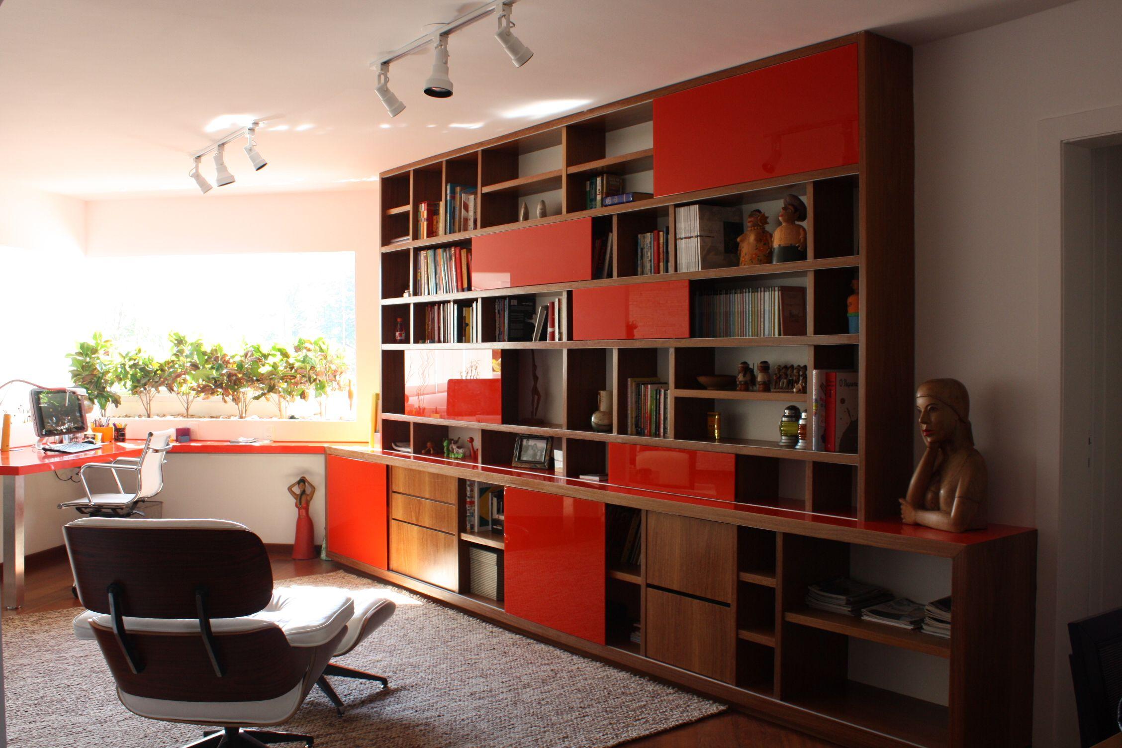 Projeto: SP Estudio - Home Office | Estante