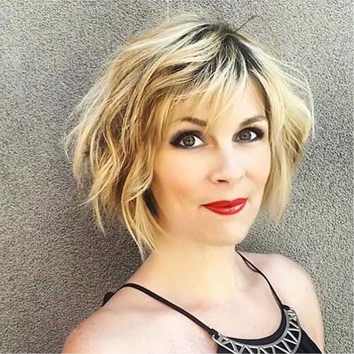 the coolest short hairstyles and hair colors for women