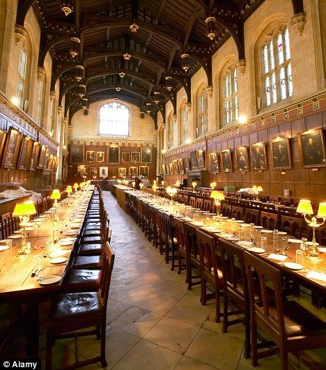Hogwarts Banquets To Teach Table Manners To Children