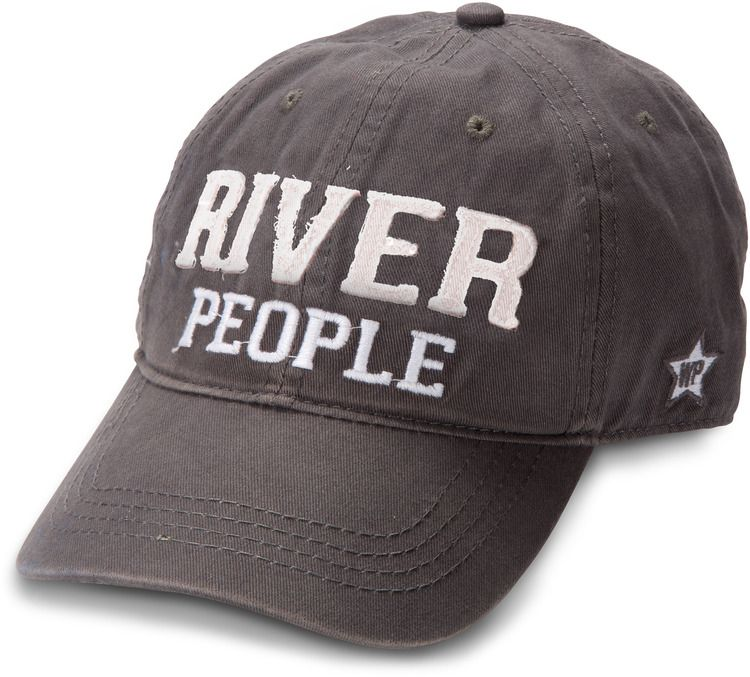 a1f88e6323c We People - River People Dark Gray Snapback Hat Adjustable Baseball Cap