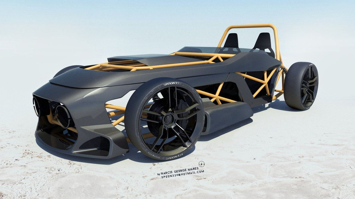 The Spun 2 Concept Car Design Kit Cars Concept Cars