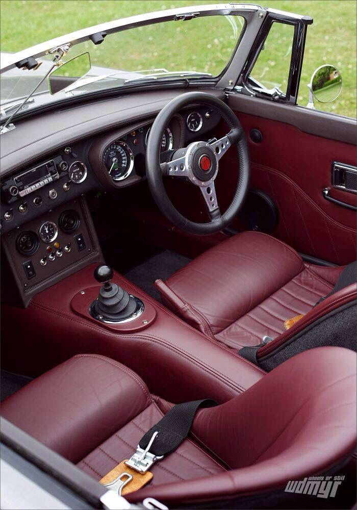 Oh Wow This Interior Is Really Cool Mgb Gt Inspiration