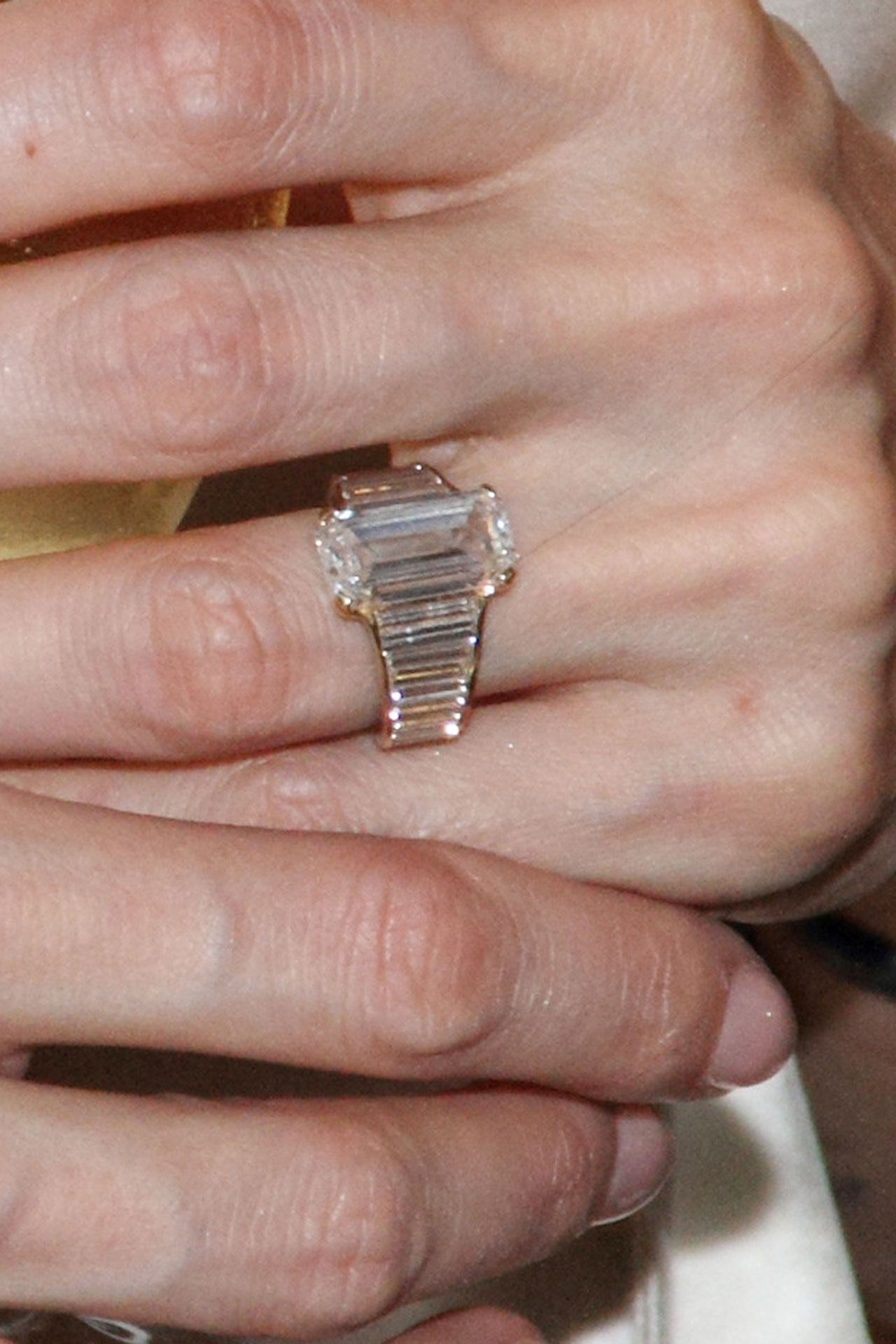 Celebrity Engagement Rings | Engagement ring pictures, Angelina ...
