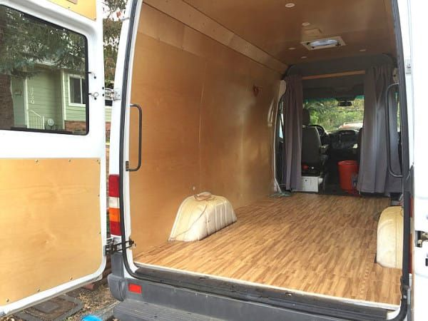 Image Result For Insulation Van Conversion Wood