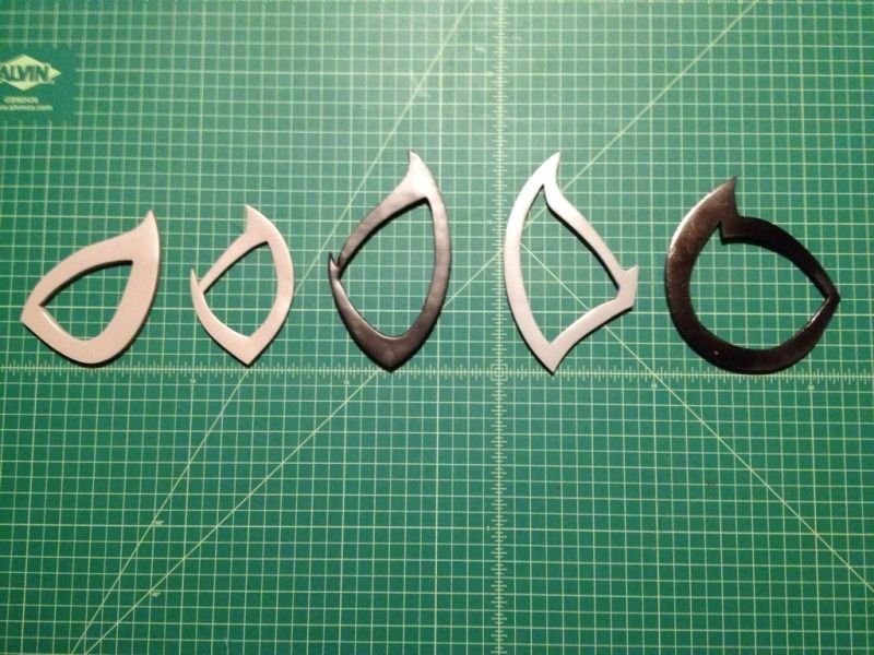 Spider-Man Eye Frames / Web Shooters - Cosplay.com | art ref project ...