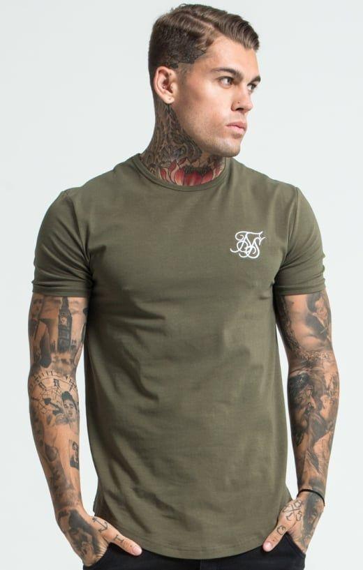 244f1d35 SikSilk Short Sleeve Gym Tee – Navy Blue | Urban Fashion in 2019 ...