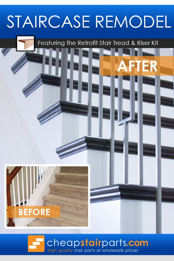 Best Retrofit Stair Treads Are Used When You Are Removing 400 x 300