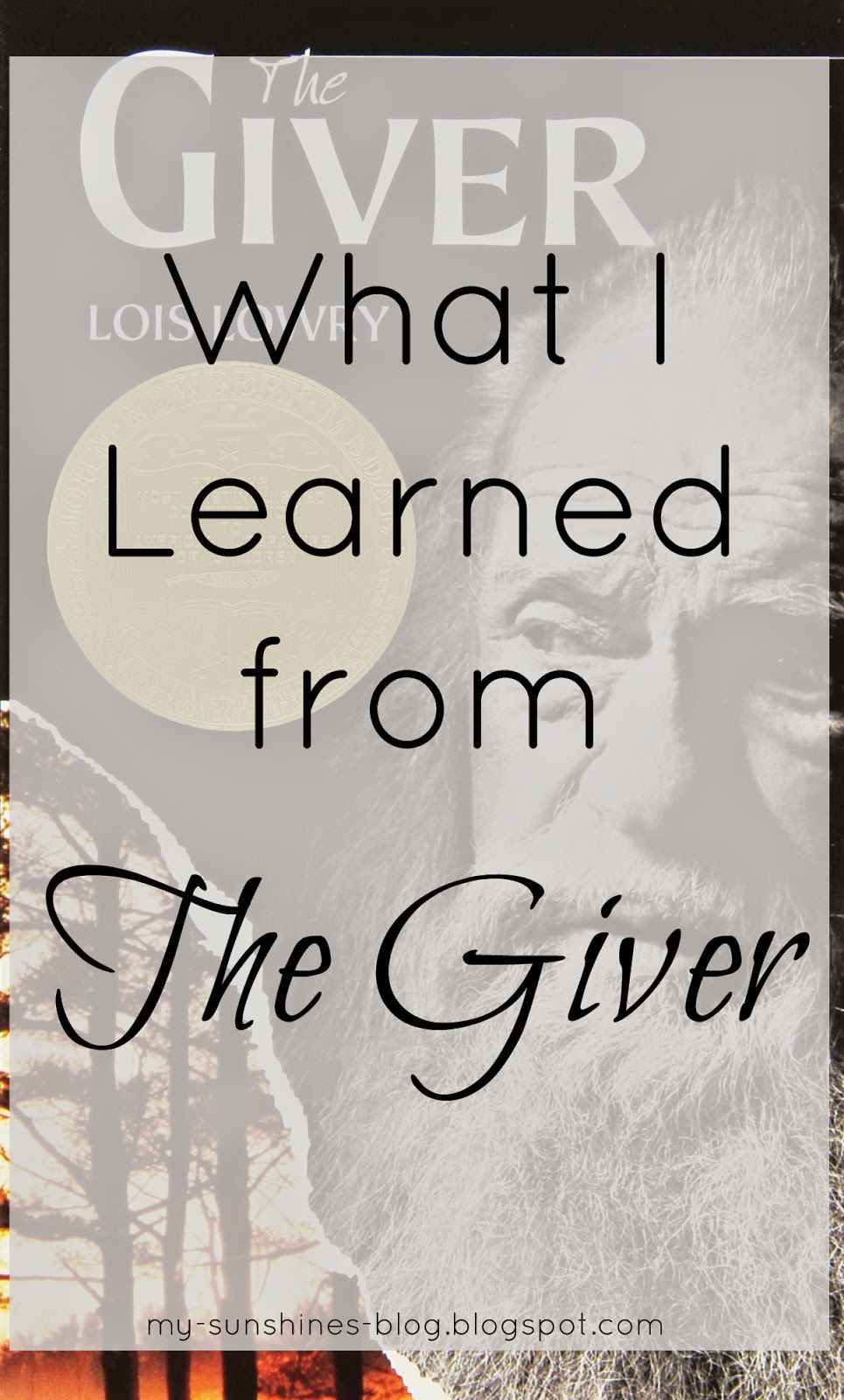 My Little Sunshines: What I Learned from The Giver