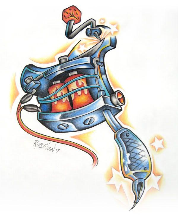 Tattoo Machine Image - Tattoo