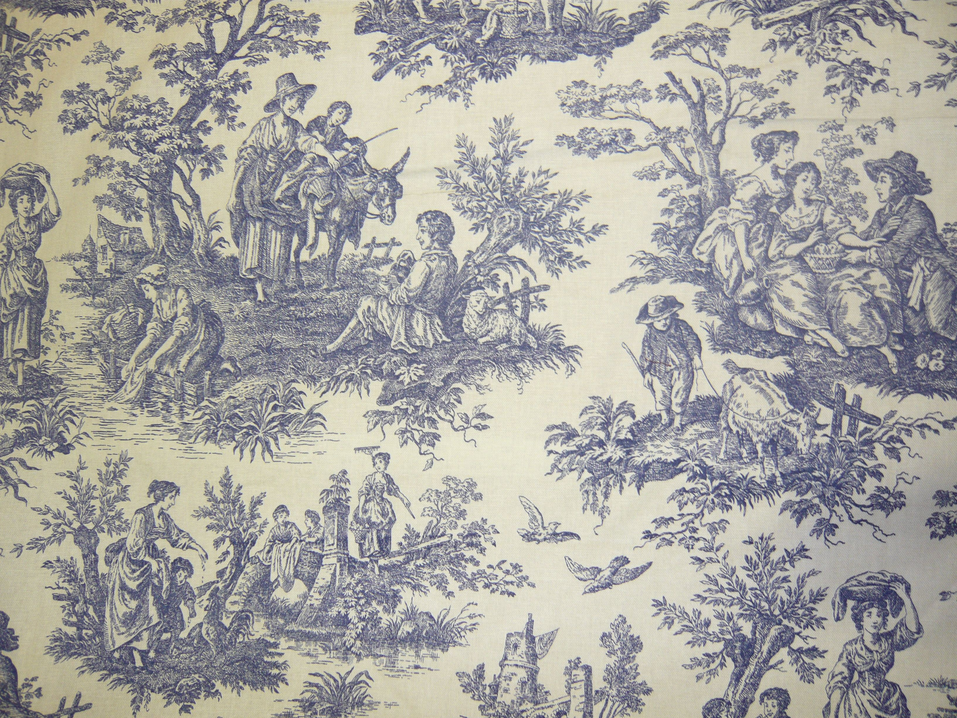 Fabric cotton print fabric fabrics and beyond fabric for French toile fabric