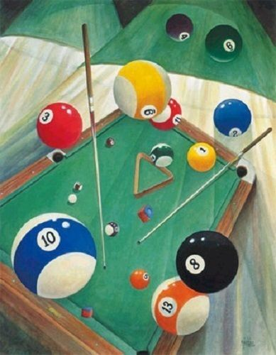 Billiard pool table qnique wall art home decor LIGHT SWITCH PLATE ...