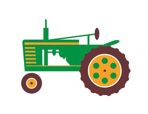 tractor (green) by dan stiles