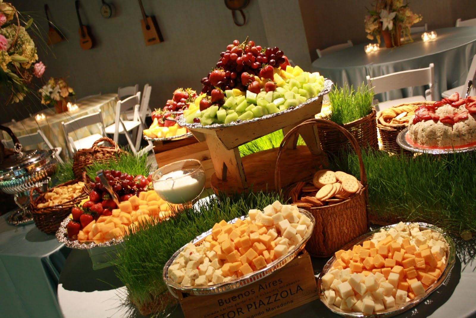 Wedding Reception Hors D'oeuvres Ideas