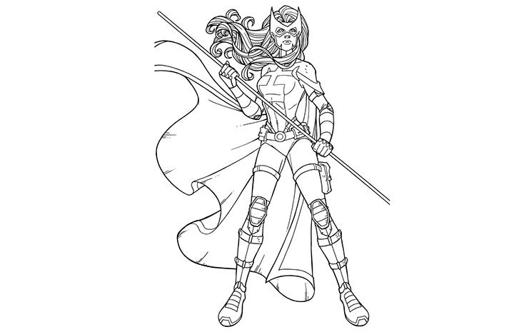 catwoman coloring pages catwoman and huntress colouring pages