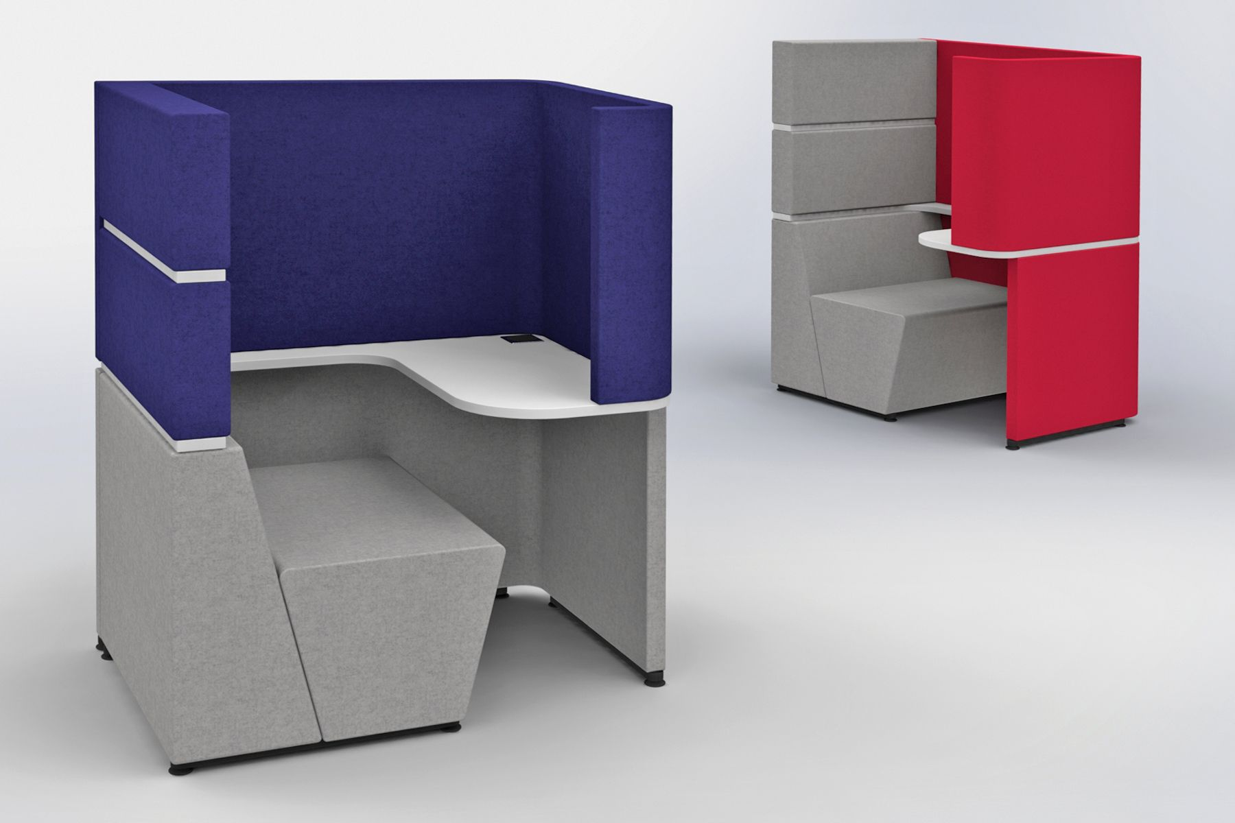 Modern office furniture designed for the future. The ...