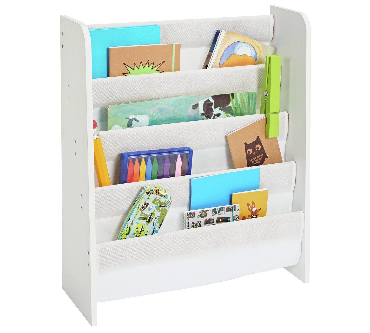 Buy Argos Home White Book Tidy Toy Boxes Argos White Books Argos Home Kids Book Storage