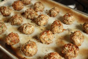 Turkey-meatball-cooked Delicious and Clean Eating