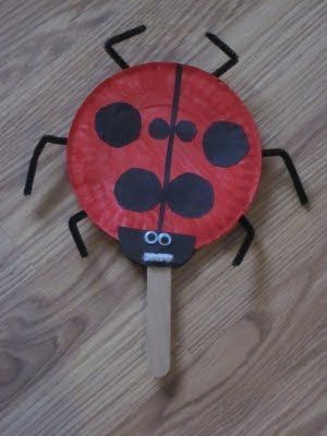 The Grouchy Ladybug (Eric Carle paper plate craft) & The Grouchy Ladybug (Eric Carle paper plate craft) | preschool age ...