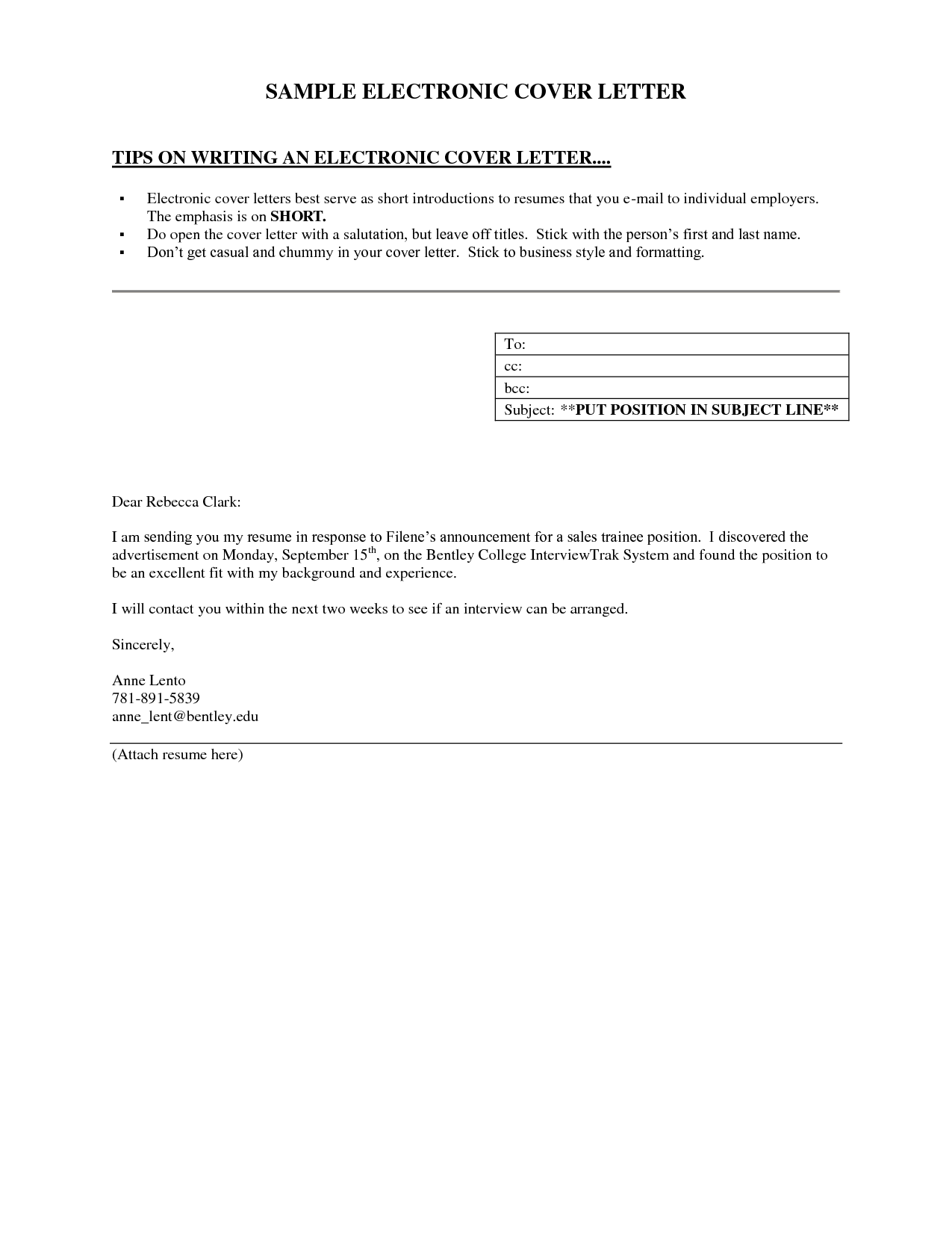 Short Cover Letter Example Facets Application Tester Sample