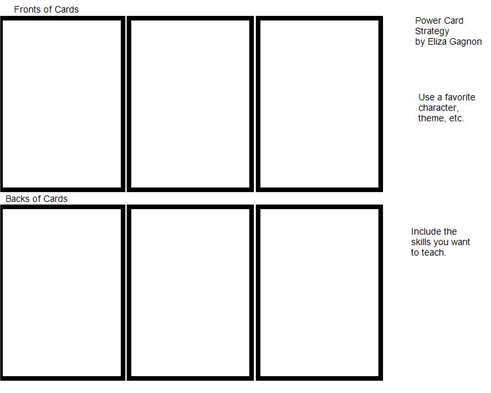 Boardmaker Online power card template   SLP Behavior   Pinterest ...