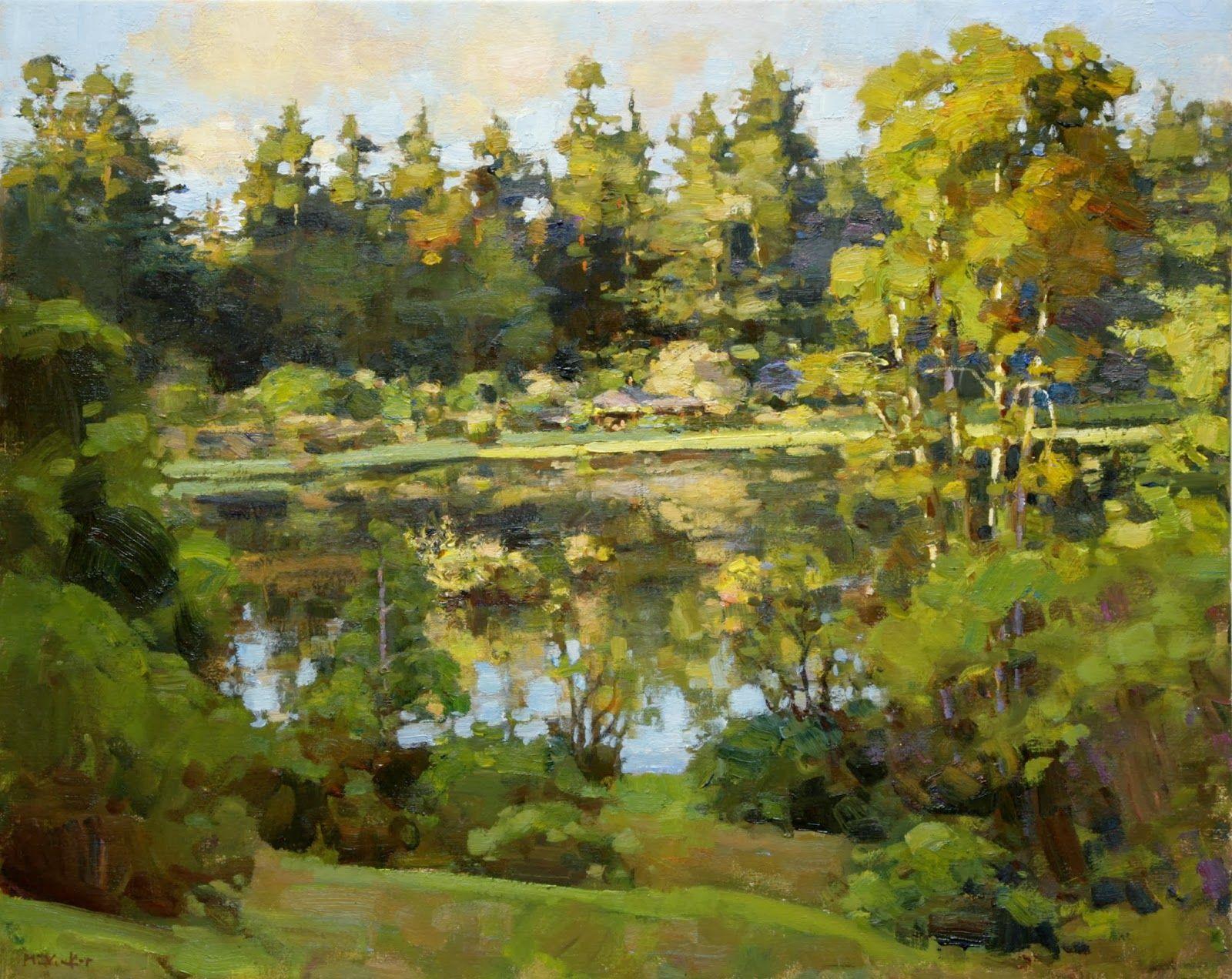 Jim McVicker Paintings: ' The Lake Paintings' | Jim ...