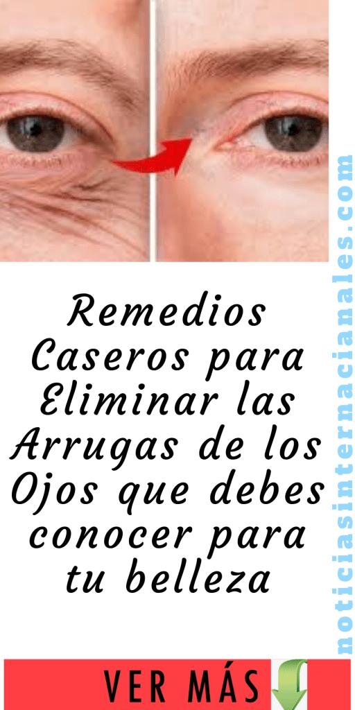 Remedios Caseros para Eliminar las Arrugas de los Ojos que ...