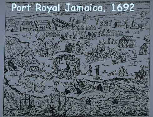 Settlers to Port Royal Jamaica year 1692  pirates  Pinterest