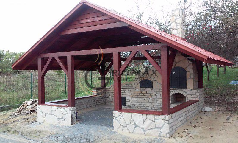 Altana 5x4 Grill Murowany Wedzarnia Piec Chlebowy 4489495771 Oficjalne Archiwum Allegro Gazebo Backyard Landscaping Designs Masonry Bbq