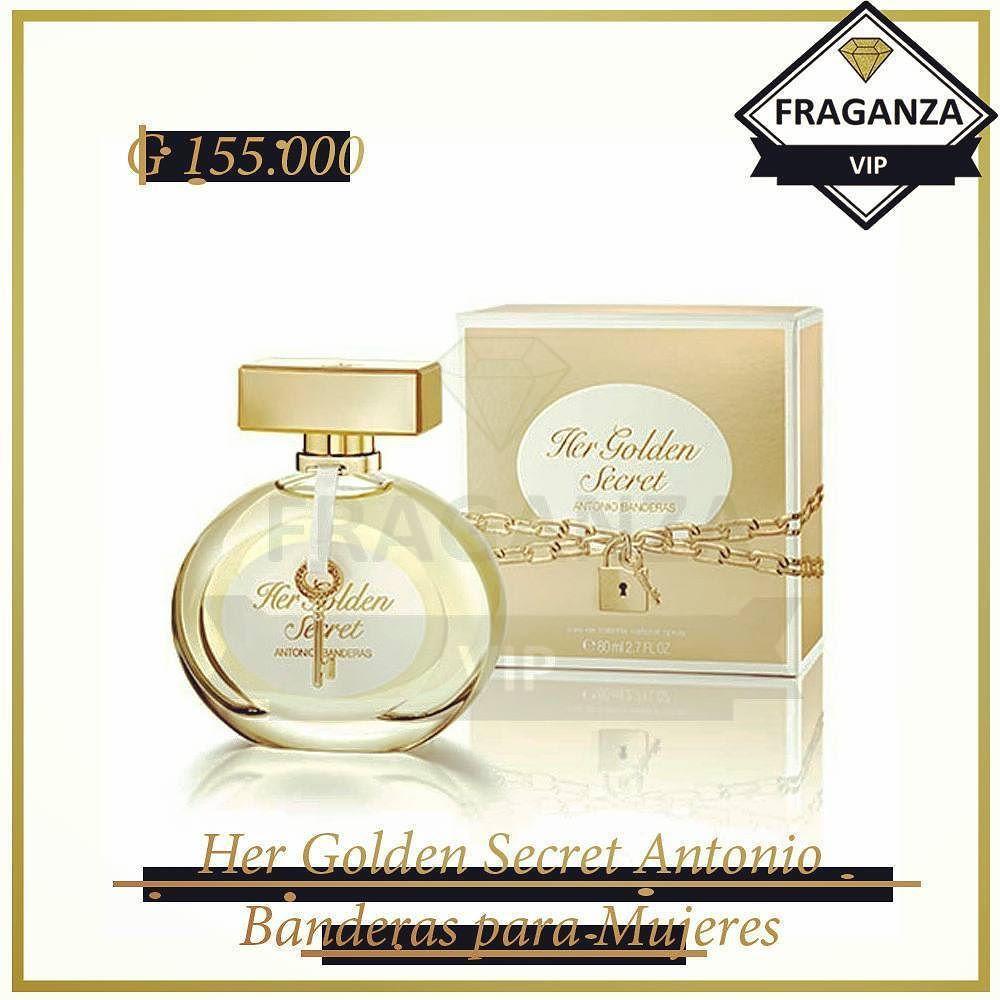 Her Golden Secret Antonio Banderas De la familia olfativa Oriental ...