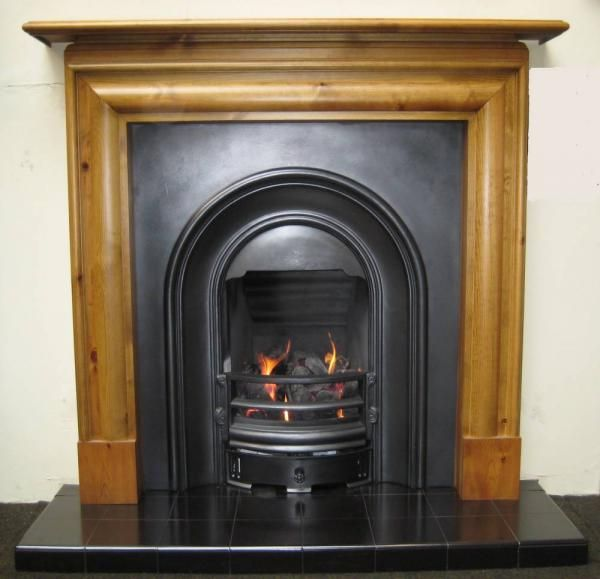 Bolection Pine Surround In 2019 Wood Fireplace