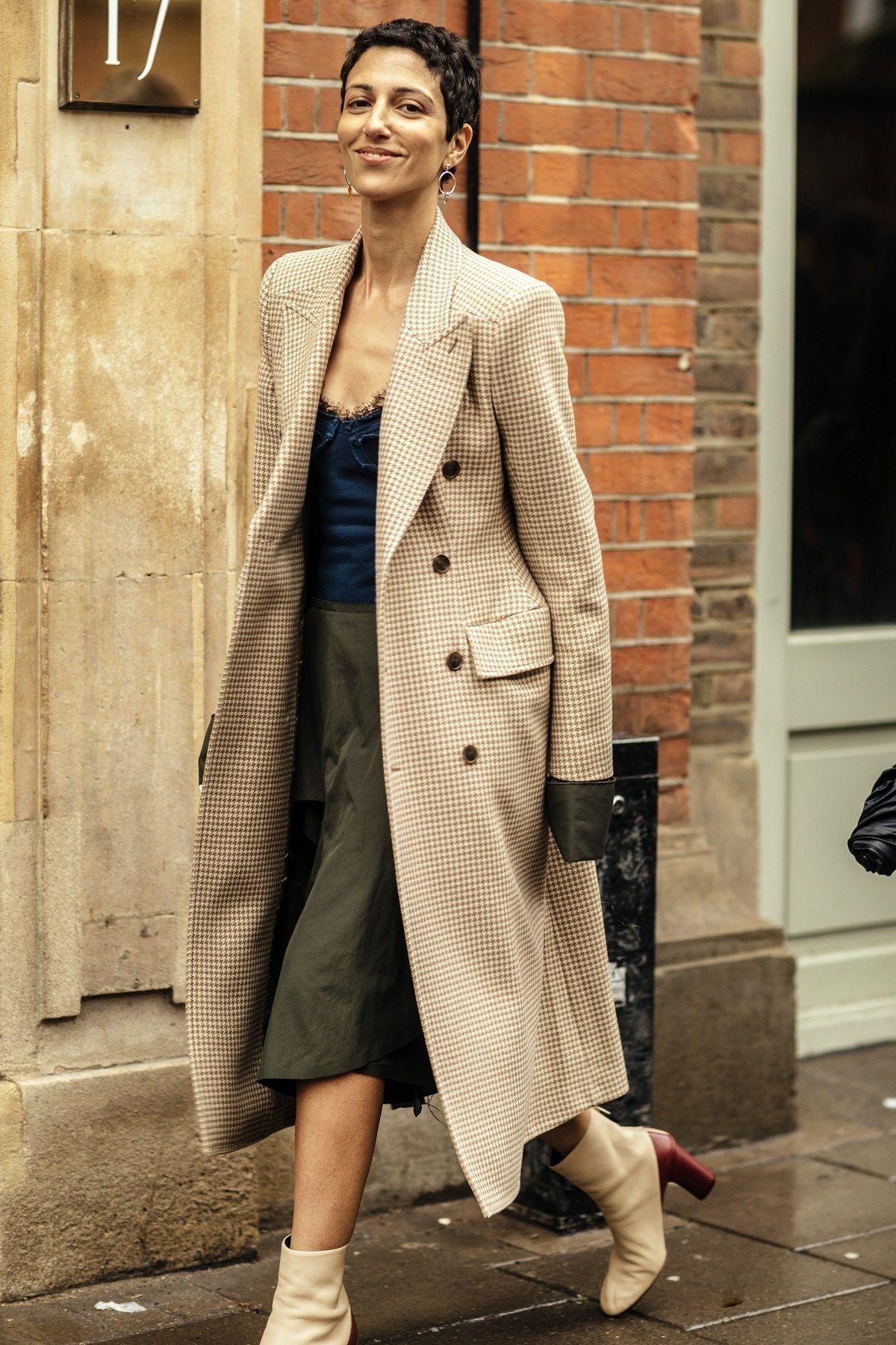 119 Street Style Tydzień Mody W Londynie Jesień Zima 2018