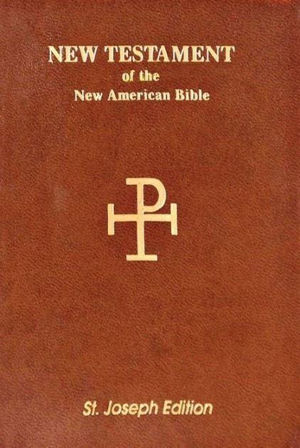 NAB Saint Joseph Vest Pocket New Testament, Paper, Brown