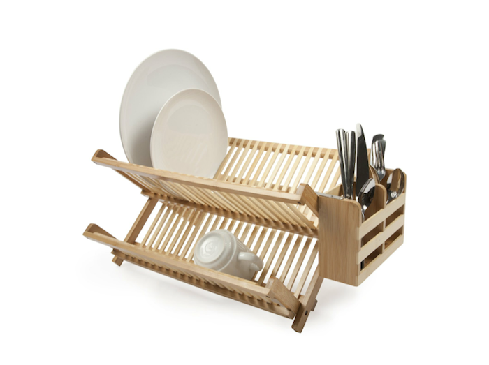 10 Easy Pieces Countertop Dish Drainers Bamboo Dishes Dish Rack Drying Dish Racks