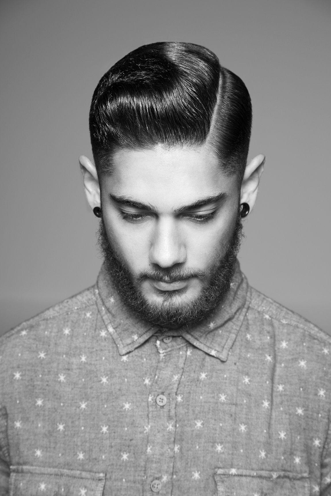 Corte de cabello hombre cuello corto