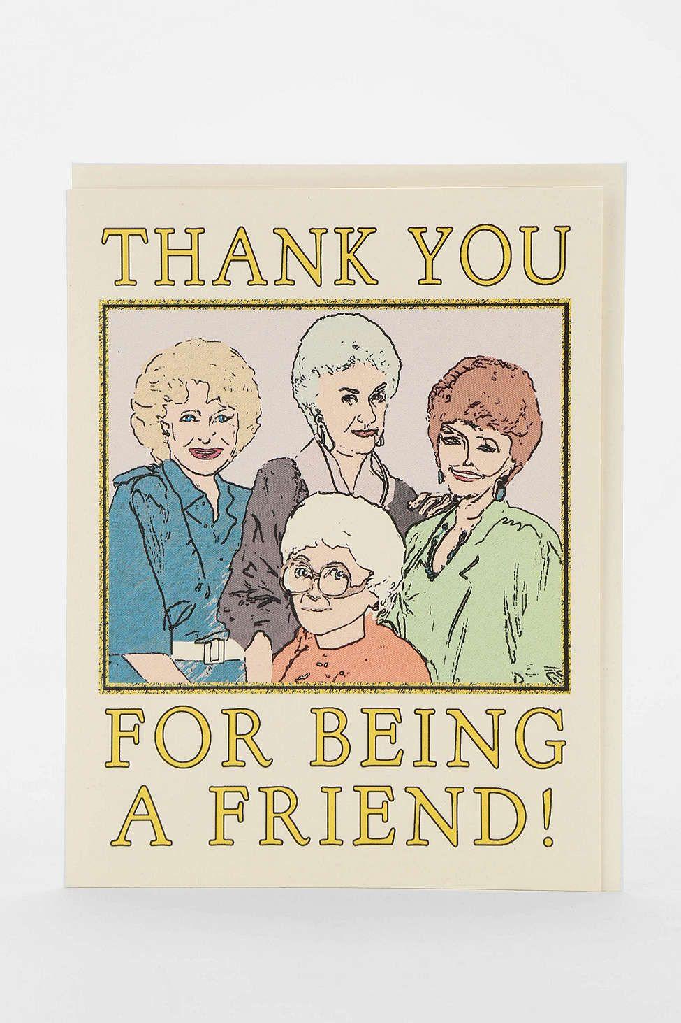 seas and peas golden girls thank you card g r e e t paper hellos