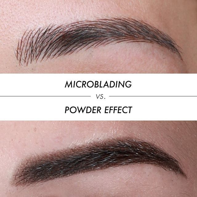 The difference between microblading and powder effect for How is microblading different to tattooing
