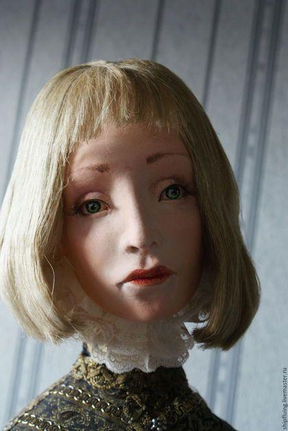 Коллекционные куклы ручной работы. Ярмарка Мастеров - ручная работа. Купить Себастьян. Handmade. Комбинированный, кабинет, акварель, интерьерная кукла