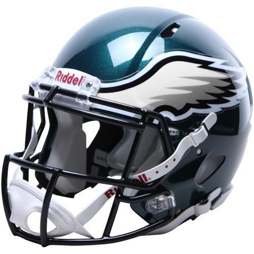16f4b7ae691 NFL Philadelphia Eagles Speed Authentic Football Helmet by Riddell.  $224.32. Great for autographs.. With its new distinctive shell design, the Speed  helmet ...