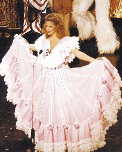 Irene Sáez Universo 1986