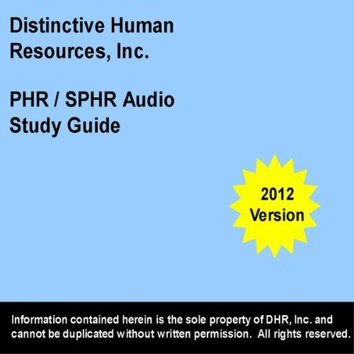 phr - sphr study guide  2012 edition