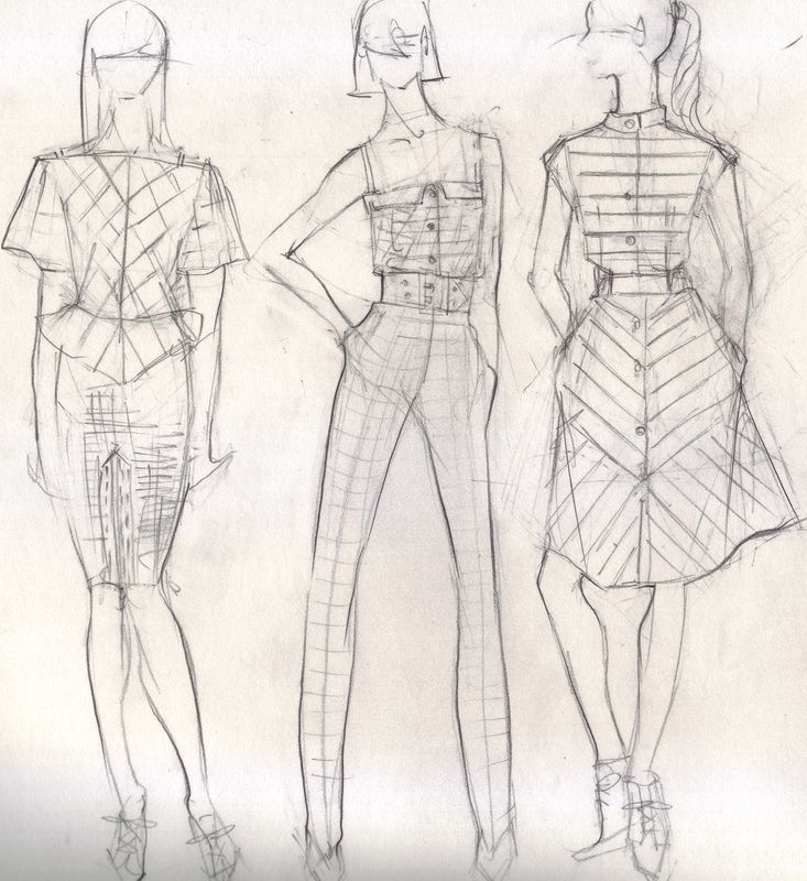 stylized fashion quick pencil sketches | fashion illustration - shadi…