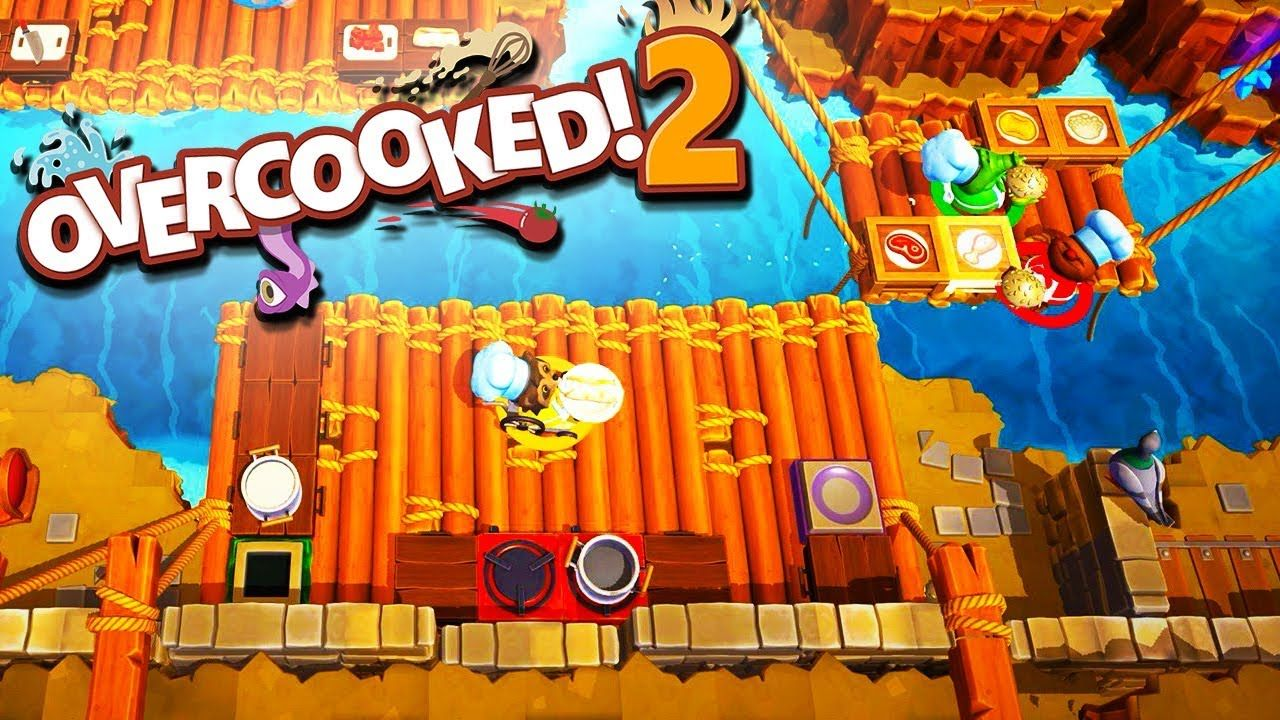 DON'T TOUCH MY PASTA!! Overcooked 2 with The Crew! YouTube