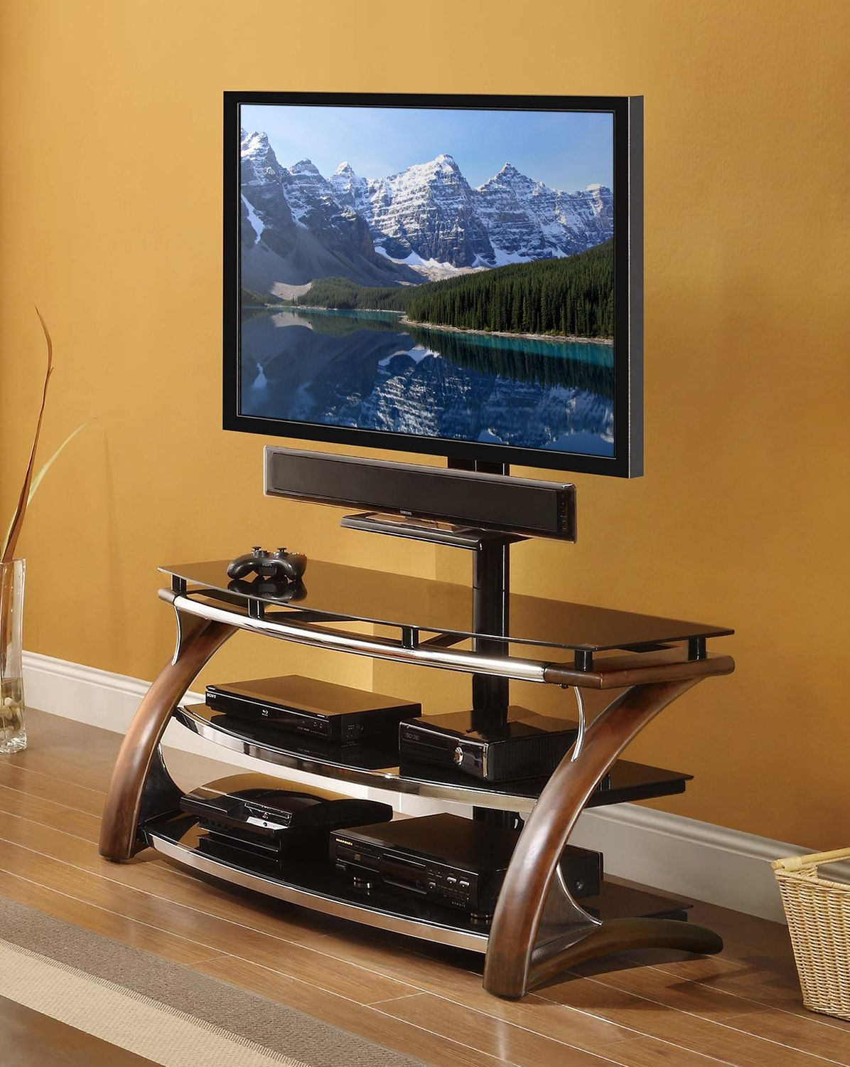 Lucas Entertainment Wall Units TV Stand - Leon\'s | Home Ideas ...