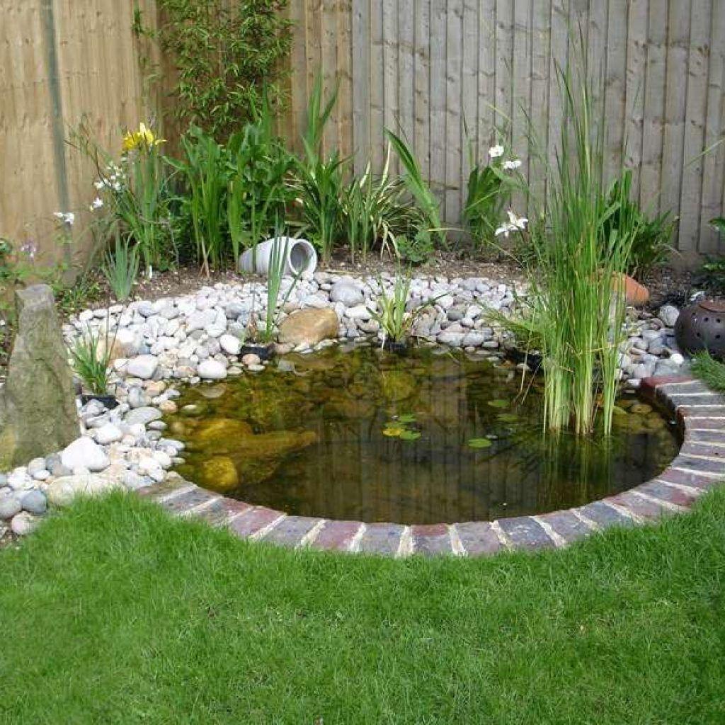 Garden Pond Ideas - Small Pond Designs Small Pond Please ...