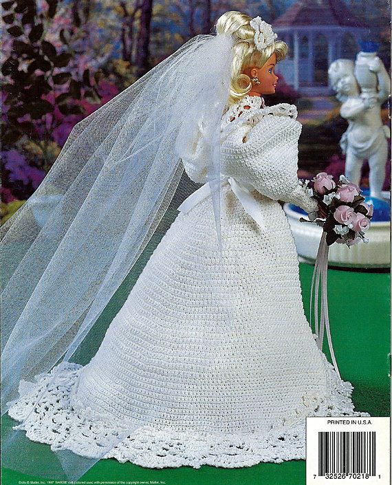 Sweetheart Bride Fashion Doll Crochet Pattern Annies Attic